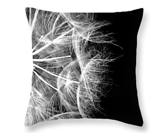 Pillow Cover Throw Pillow Black and White Modern Accent Pillow Graphic Art Sofa Pillow Home Decor Decorative Pillows