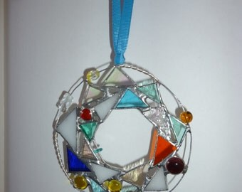 Stained glass Wreath A