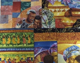African Families 5 pack fat quarters