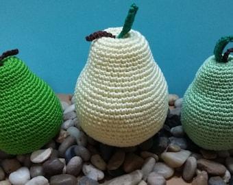 Crochet pears