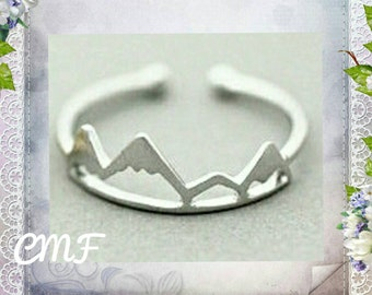 Mountain Ring 925 Sterling Silver Ring