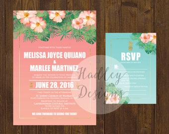 destination wedding invitation  etsy, Wedding invitations