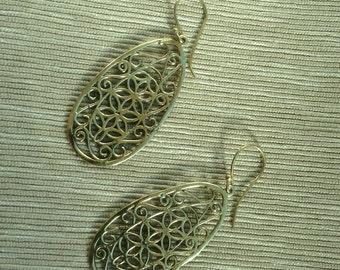 Brass Earrings - Ethnic Jewe