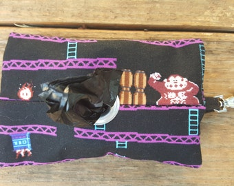 Old School Donkey Kong Doggie Waste Bag Dispenser Keychain