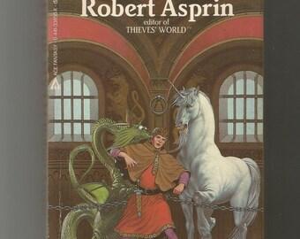 signed paperback, Robert Asprin, Hit or Myth