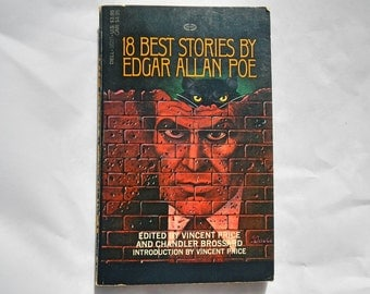 18 Best Stories by Edgar Allan Poe Introduction by Vincent Price Vintage 1965 Paperback