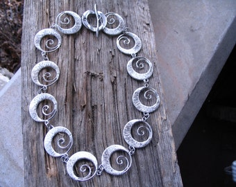 Silver Whimsy Necklace