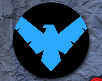 Nightwing Symbol DC Comics Sticker
