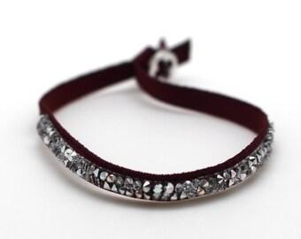 Crystal Elastic Band Bracelet