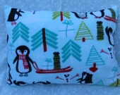 Penguins in The Snow Pillows