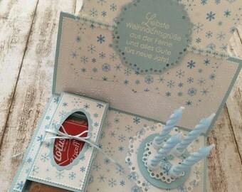 """Easel Card """"Dearest Christmas Greetings"""""""
