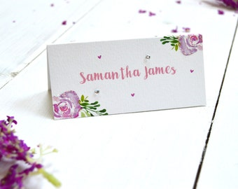 Pretty Posies Place Card