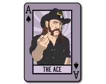 Ace of Spades Lemmy Motorhead Playing Card