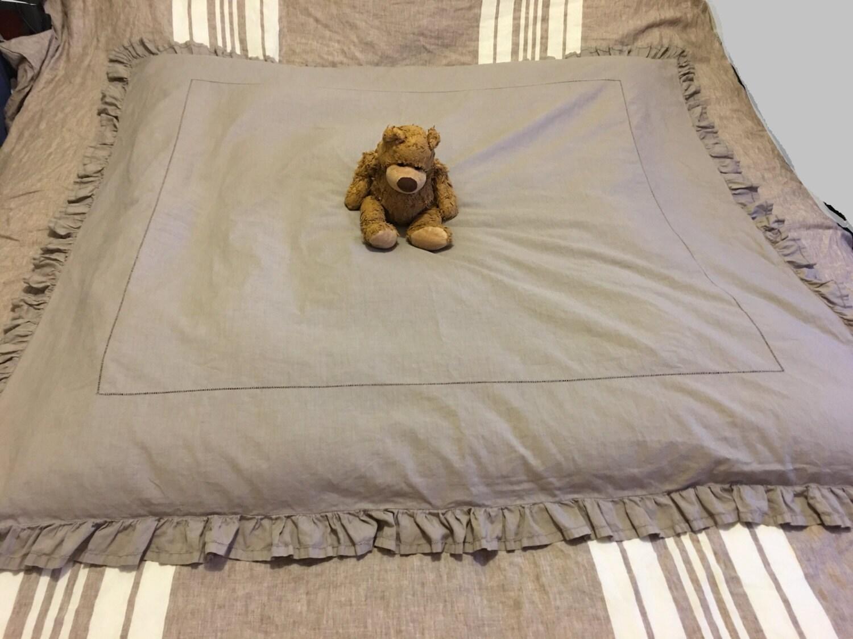 edredon ancien linge de maison boutis couverture couvre lit. Black Bedroom Furniture Sets. Home Design Ideas