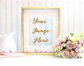 Styled Stock Photography / Photobooth Table/Blank Frame / Mock up/Instant Download/1 JPEG Digital Image/ 1 PNG FILE/ Photoshop Not Required