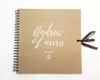 Small square scrapbook, personalised