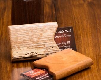 Wooden Wallet, Credit Card Case, Business Card Holder, Woodworking, Ashland City, TN