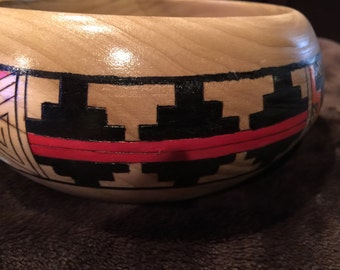 Bowl Hand made Native American Bowl