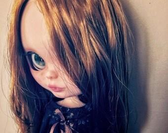 Destiny ~ custom doll ~ ooak ~ fashion doll ~ blythe doll ~ big eyes ~ red hair ~ bambola