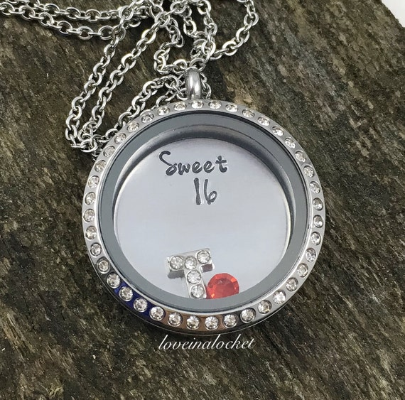 Sweet 16 Necklace 16th Birthday Gift Sweet By