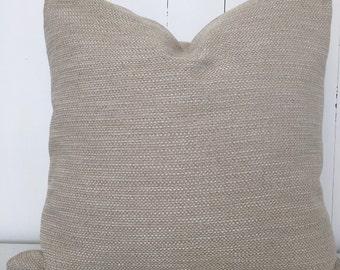Flax cushion cover