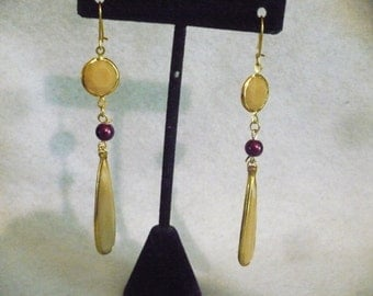 Taupe fantasy earrings