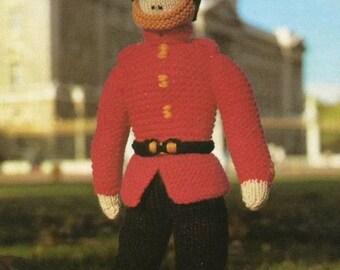 Queens 90th Birthday Celebration  Soldier / Guard Knitting Pattern