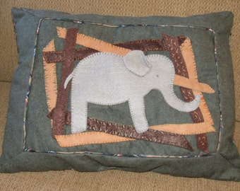 Elephant tooth pillow