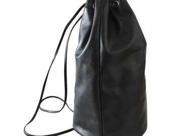 Emma back pack black
