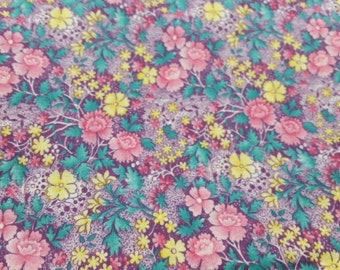 Fabric cotton print thin, soft, gentle colors