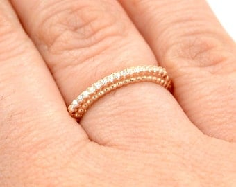 Eternity ring. High quality silver eternity ring. Stacking ring. Band ring. Eternity band ring. Wedding band ring. Stackable ring.