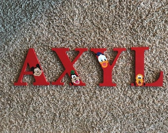 Custom Painted Wood Letters - Personalized - Any Theme