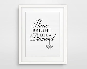 shine bright like a diamond how The shine bright like a diamond 100 mile challenge is not a race it is a motivational way for you to establish and/or maintain a healthy, active lifestyle.