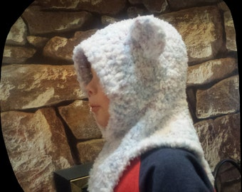 children's cosy bear balaclava cap