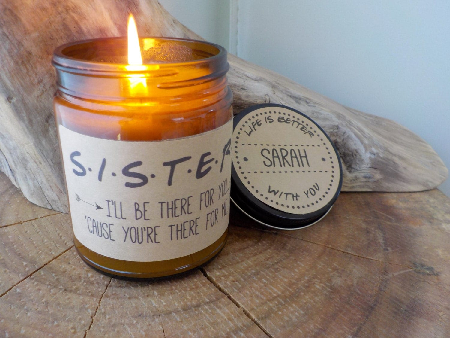Sisters Gift Friends TV Show Soy Candle Gift by ...