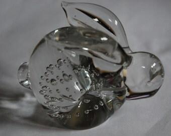 Adorable Glass Bubble Rabbit