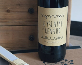 4 tags to customize your bottles of wine