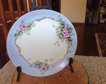 Hutschenreuther Selb hand painted plate Bavaria