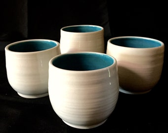 Set of Four tea cups