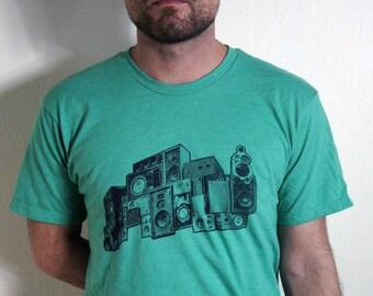 Wall of Sounds T-Shirt | Mens T-Shirt | Music | mens clothing | mens tees | graphic tee | mens tshirts