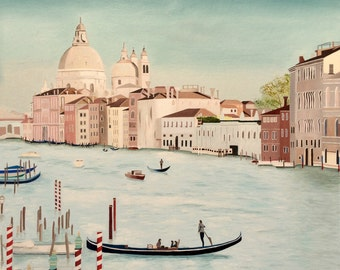 "Venetian Dream - original oil painting 20"" x 24"""