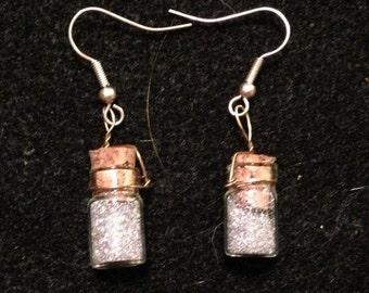 Fairy Bottle Earrings