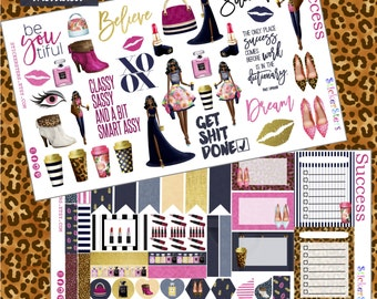 Success Planner Layout Stickers