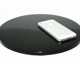 Black Obsidian Mirror 25cm