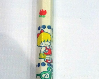kawaiiii Pencils.Vintage kirin japan-My Friend design