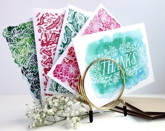 Greeting Cards Sampler - Set of 10