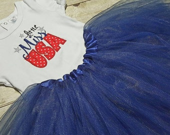 Fouth of July Tutu outfit, tshirt, onsie, American Flag circle monogram, toddler, baby girl, patriotic, Independence day