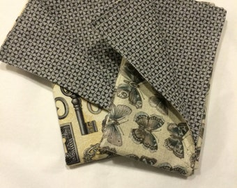 Cloth Double Sided Napkins Set of Two