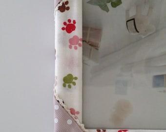 Fabric Photo Frame