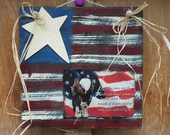 Patriotic Flag wall Hanging